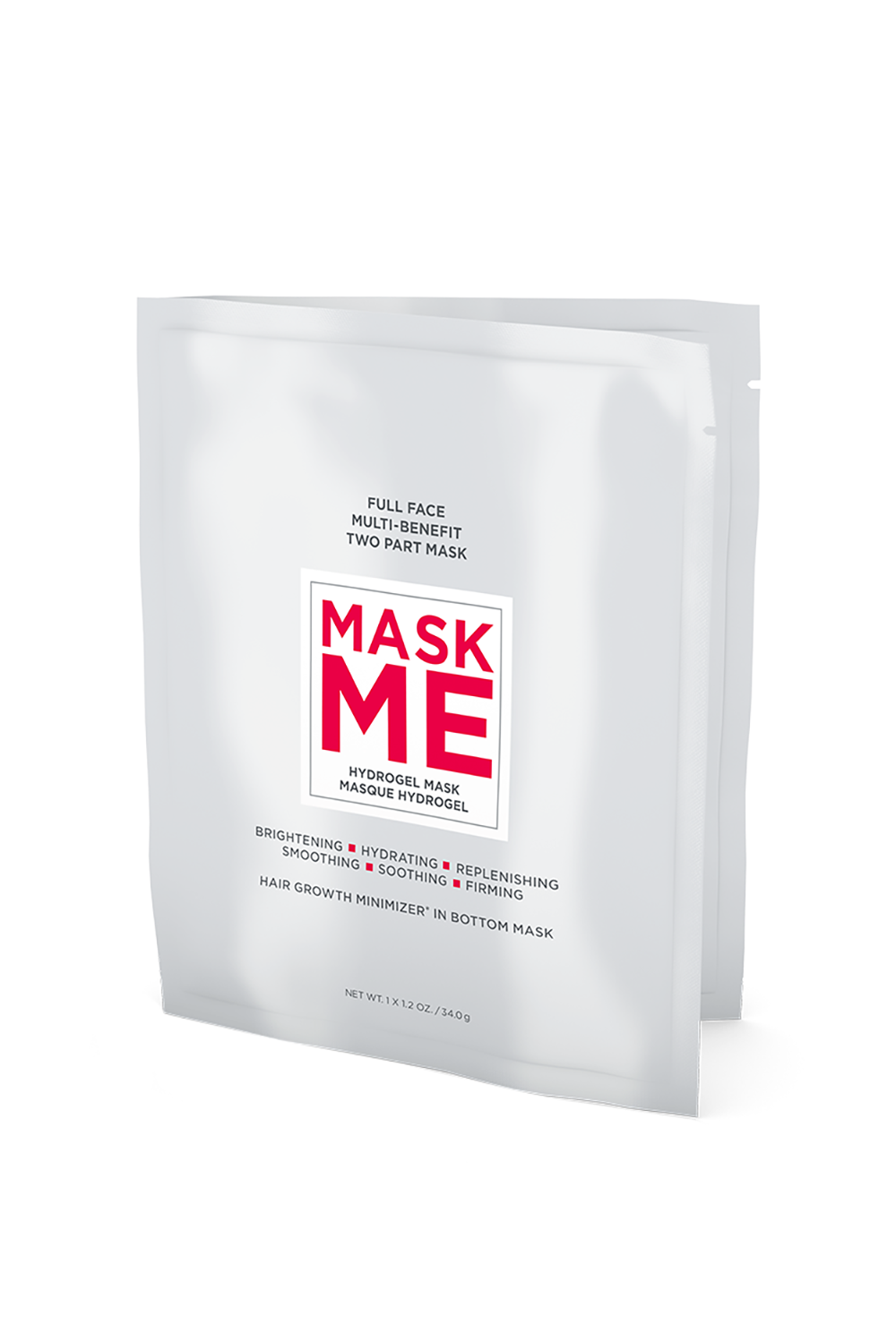 European Wax Center Mask Me Hydrogel Mask European Wax Center Mask Me Hydrogel Mask, $10 SHOP IT Bless! The bottom half of this two-part mask features a next-level, hair-minimizing technology that will keep those pesky stray hairs from showing up.