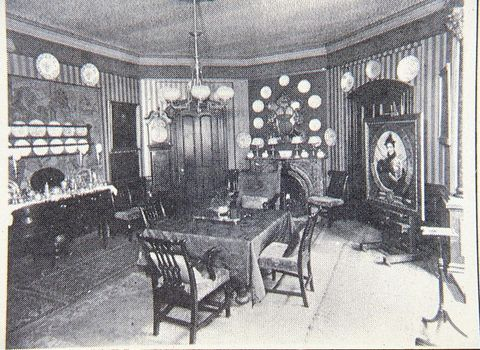 elsie de wolfe's former home in manhattan, located at 49 irving place or 122 east 17th street