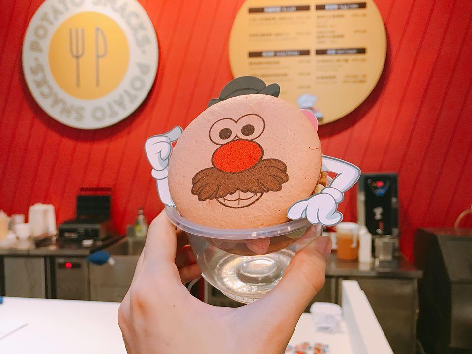 蛋頭先生馬卡龍冰淇淋