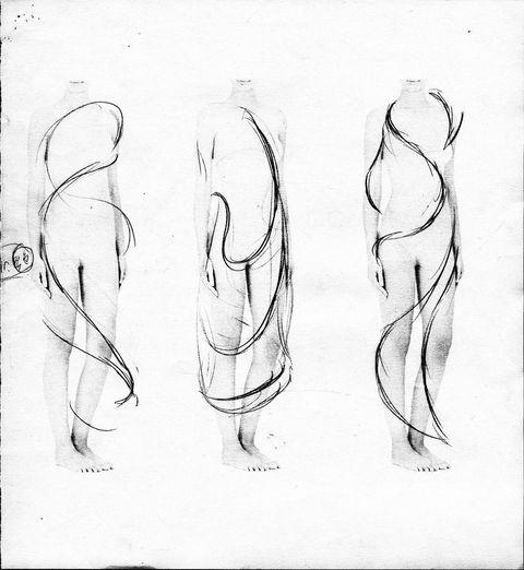 Drawing, Line art, Sketch, Figure drawing, Art, Leg, Artwork, Hand, Gesture, Illustration,