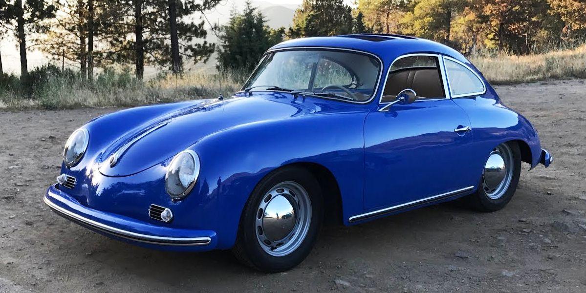 A 1956 Porsche 356A Is 85 Horsepower of Joy