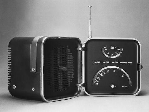 Biografia Richard Sapper, Radio TS 502 del 1963 per Brionvega