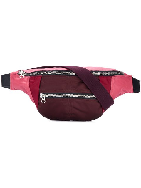 Red, Bag, Pink, Product, Magenta, Maroon, Personal protective equipment, Fashion accessory, Waist, Belt,