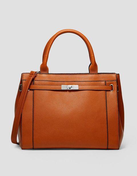 Handbag, Bag, Leather, Fashion accessory, Brown, Tan, Product, Orange, Beauty, Tote bag,
