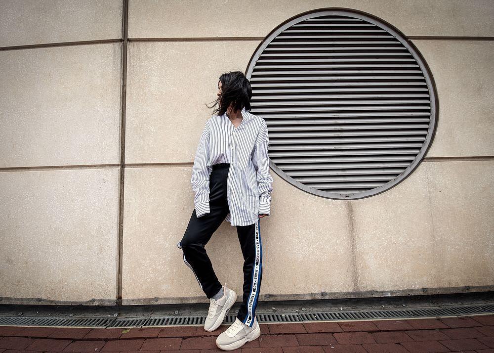 Arta Ayka, la instagramer que usa solo prendas de hombre de
