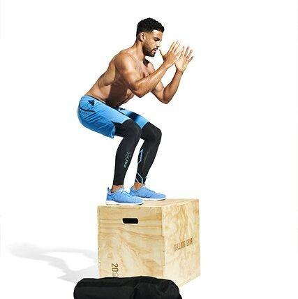 como se hace el ejercicio del salto al cajón