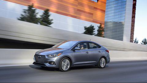 2020 Hyundai Accent Sedan Gets Powertrain and MPG Improvements