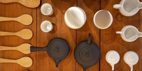 Dishware, Plate, Wood, Tableware, Spoon, Cutlery, Ceramic, Food, Bowl, Cuisine,
