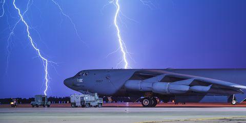 B-52H bomber.