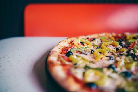 Food, Dish, Pizza, Cuisine, Ingredient, Flatbread, Pizza cheese, Italian food, California-style pizza, Tarte flambée,