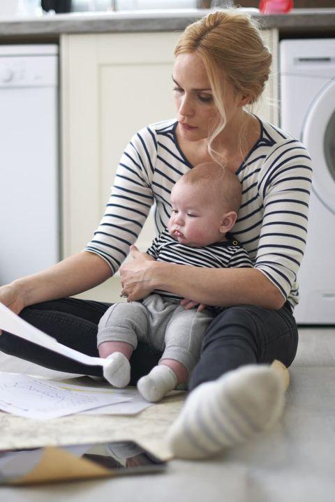 Home appliance, Major appliance, Sitting, Flooring, Interior design, Floor, Clothes dryer, Paper,