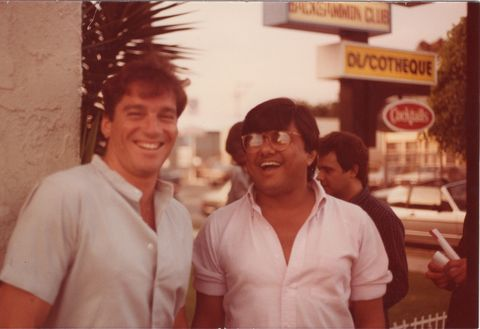 archive provided by the owner, Roger Menash by Roger Menash on the left and Steve Banerjee on the right