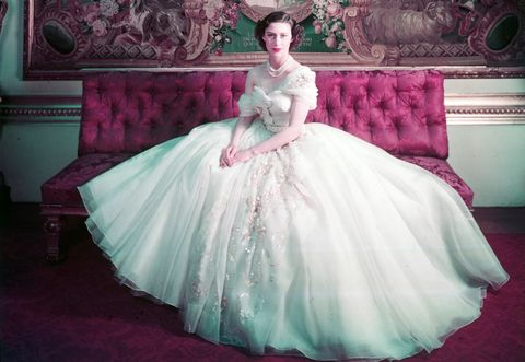 伊麗莎白女王妹妹瑪格麗特公主時髦風格princess margaret, dior