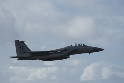 Aircraft, Vehicle, Airplane, Aviation, Air force, Flight, Fighter aircraft, Aerospace manufacturer, Military aircraft, Mcdonnell douglas f-15 eagle,