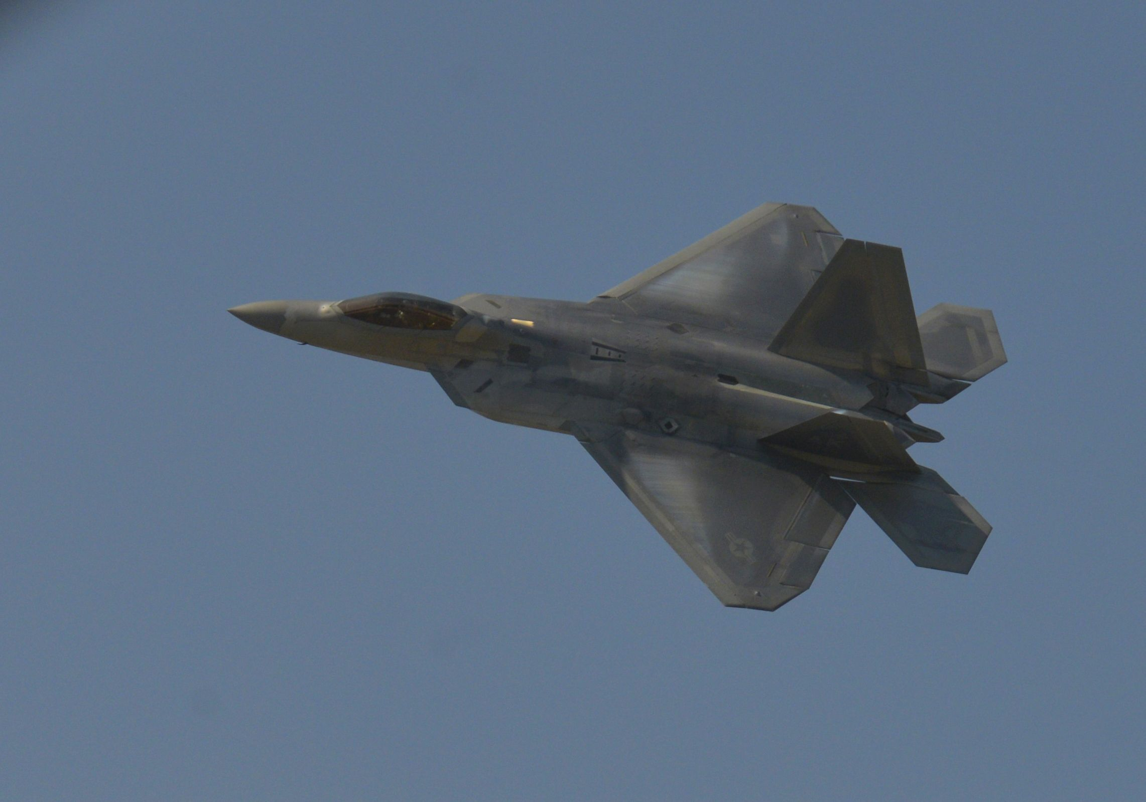 An F-22 Just Blew Up a Drug Lab During Its First Combat Mission in Afghanistan