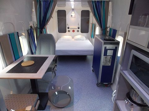 This French Airbnb Lets You Sleep on an Actual Airplane