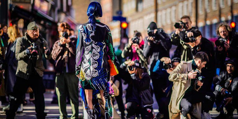 The Best Street Style From London Fashion Week Street
