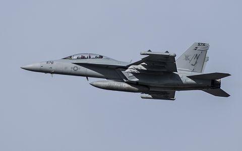 EA-18G Growler jet.
