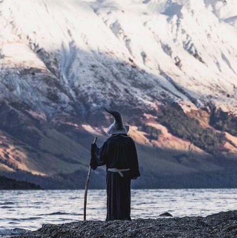 Sky, Mountain, Water, Mountain range, Snow, Ocean, Photography, Winter, Sea, Fjord,