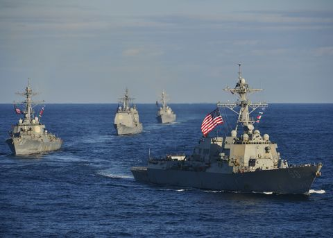 Vehicle, Destroyer, Warship, Navy, Naval ship, Guided missile destroyer, Boat, Ship, Watercraft, Cruiser,