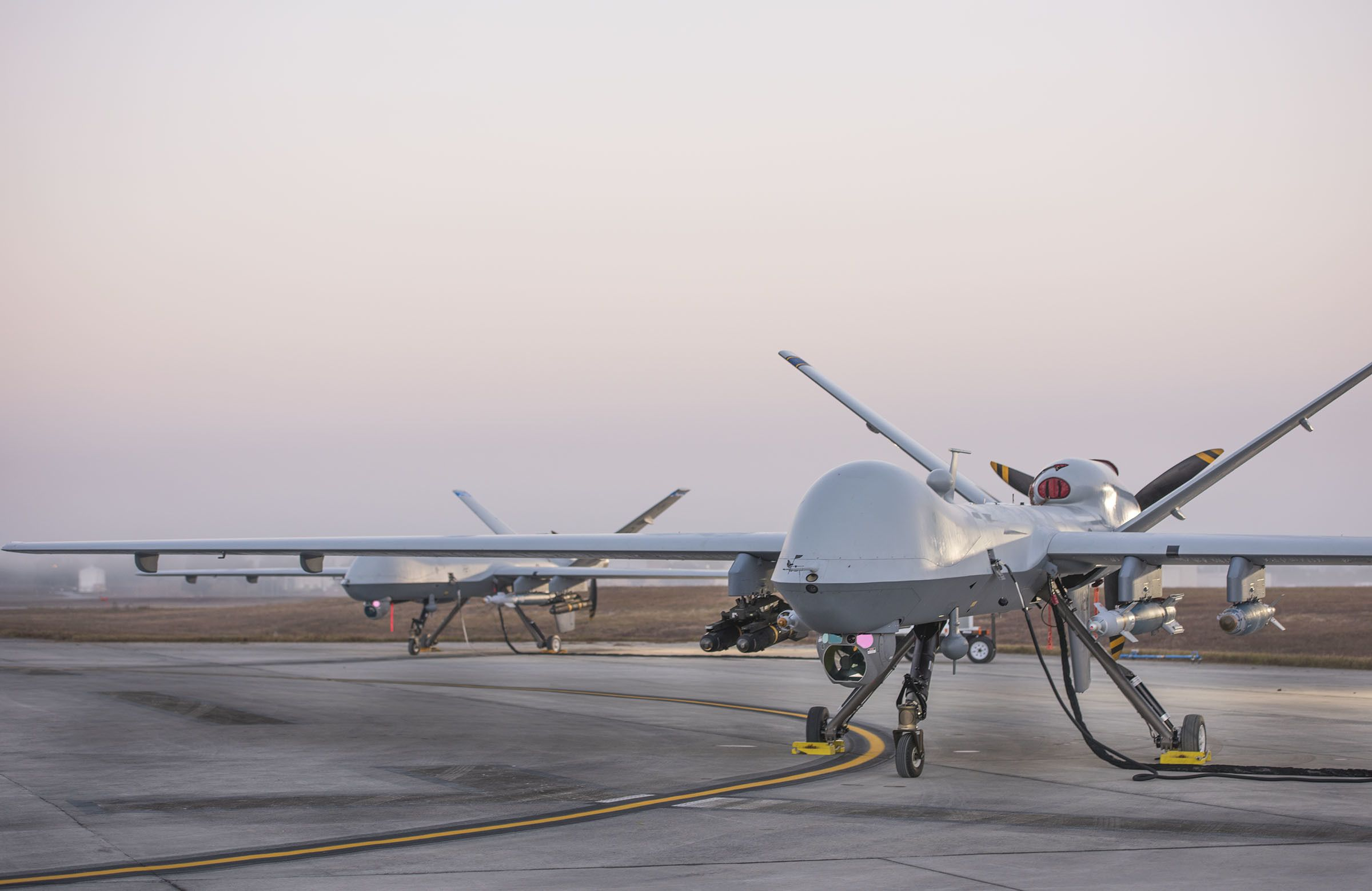 popularmechanics.com - Kyle Mizokami - A Reaper Drone Shot Down Another Drone in First Unmanned Air-to-Air Kill