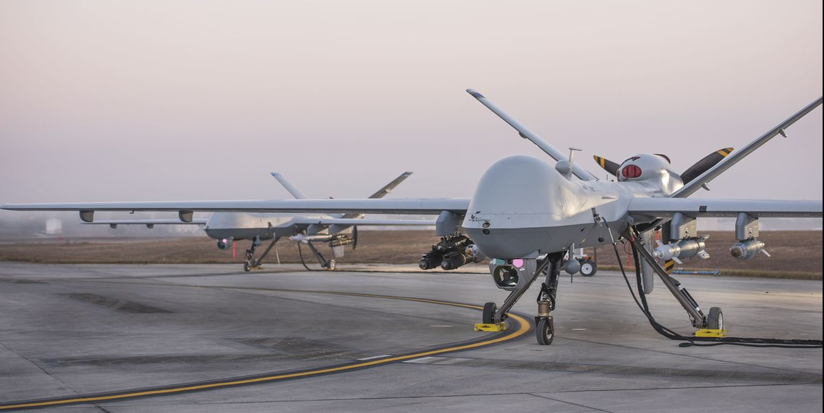 A Reaper Drone Shot Down Another Drone in First Unmanned Air-to-Air Kill