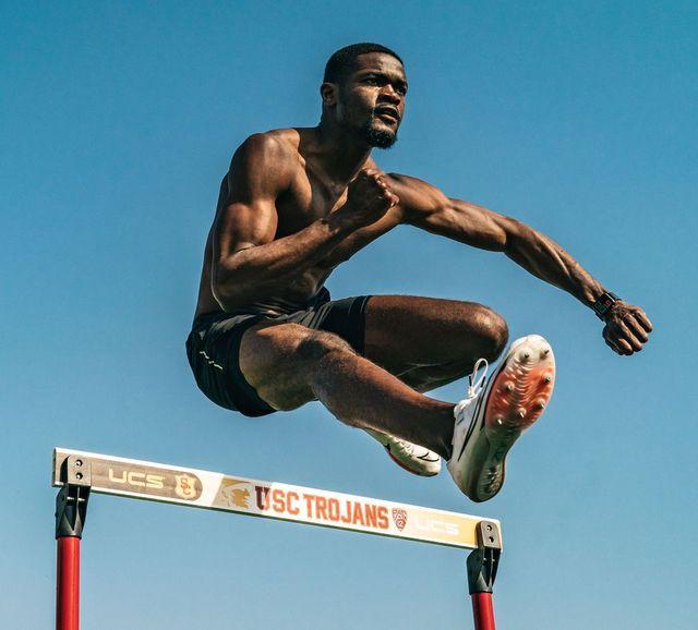 raí benjamin, 400m vallas en los juegos olímpicos