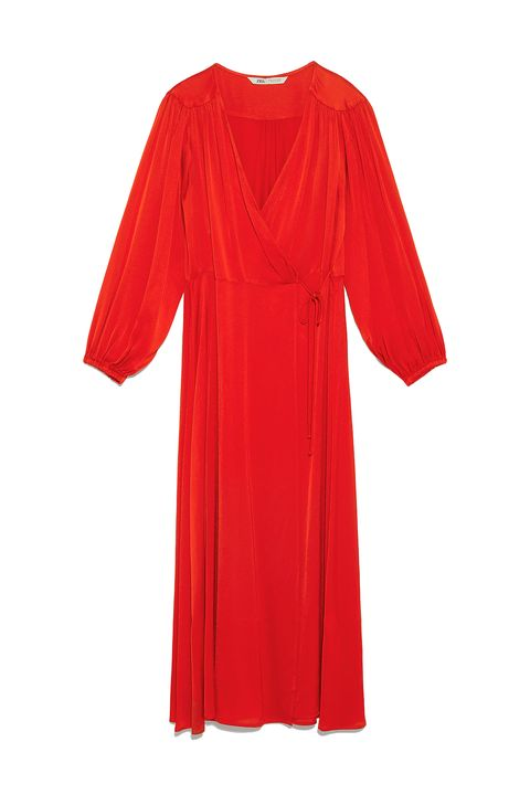 Zara vestidos invitada de boda baratos