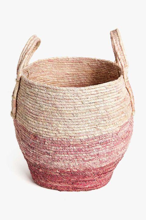 Basket, Beige, earthenware, Wicker,