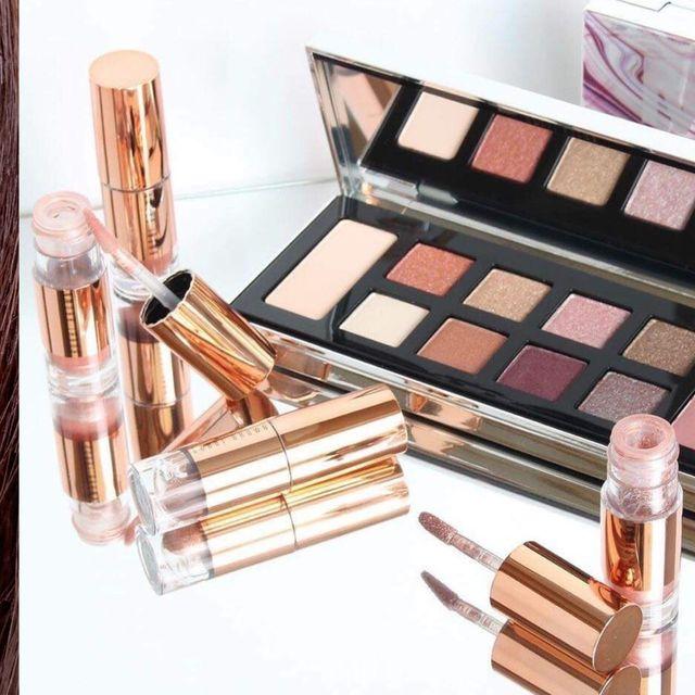 Eyebrow, Face, Eye shadow, Eye, Skin, Brown, Product, Eyelash, Beauty, Cheek,