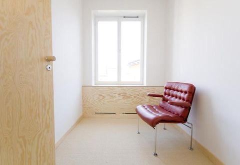 Wood, Floor, Room, Flooring, Hardwood, Wood stain, Fixture, Home door, Chair, Door,