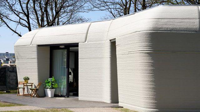 cómo se vive en una casa fabricada con una impresora 3d