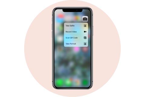 IPhone cảm ứng 3d