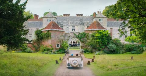 cranborne manor acts as the exterior for manderley