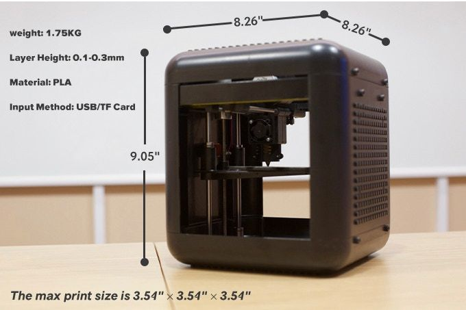 A Tiny Home 3D Printer Can Be Yours for $79