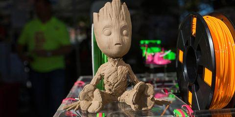 3D-printed Groot