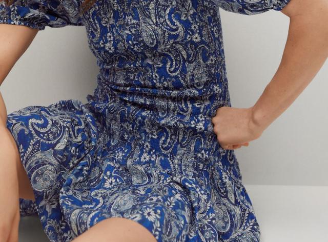 mango vestido mini