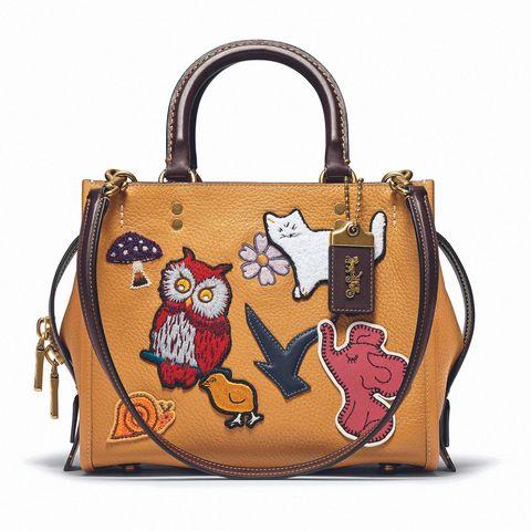 黃色的貓頭鷹包包