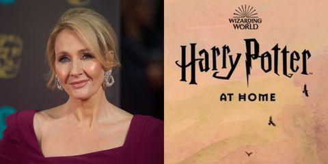 JK羅琳推哈利波特在家網站