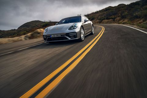 panamera turbo s sport turismo has room for gear, people and plenty of driving thrills