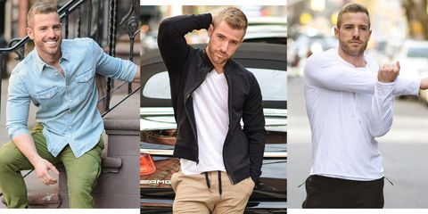 Clothing, Shoulder, Sleeve, T-shirt, Neck, Muscle, Arm, Outerwear, Shirt, Jeans,