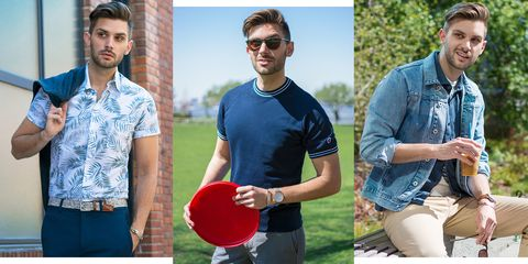 Jeans, Denim, Eyewear, T-shirt, Textile, Shirt, Polo shirt, Photography, Top, Style,