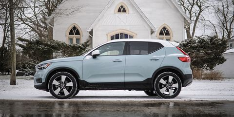 The 2019 Volvo XC40 Isn't Sporty, And That Makes it Great
