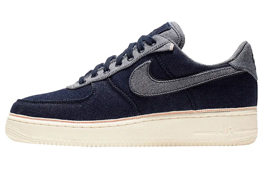 Nike x 3x1 Air Force 1 'Raw Indigo'