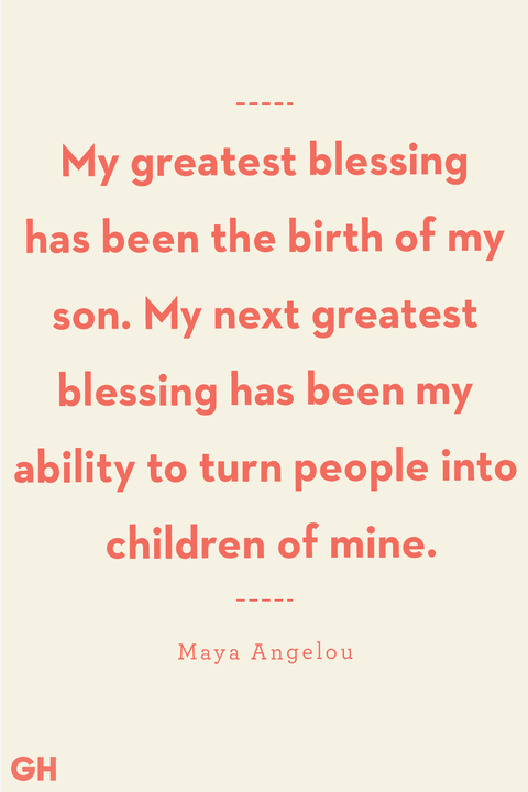 mother son quote from maya angelou
