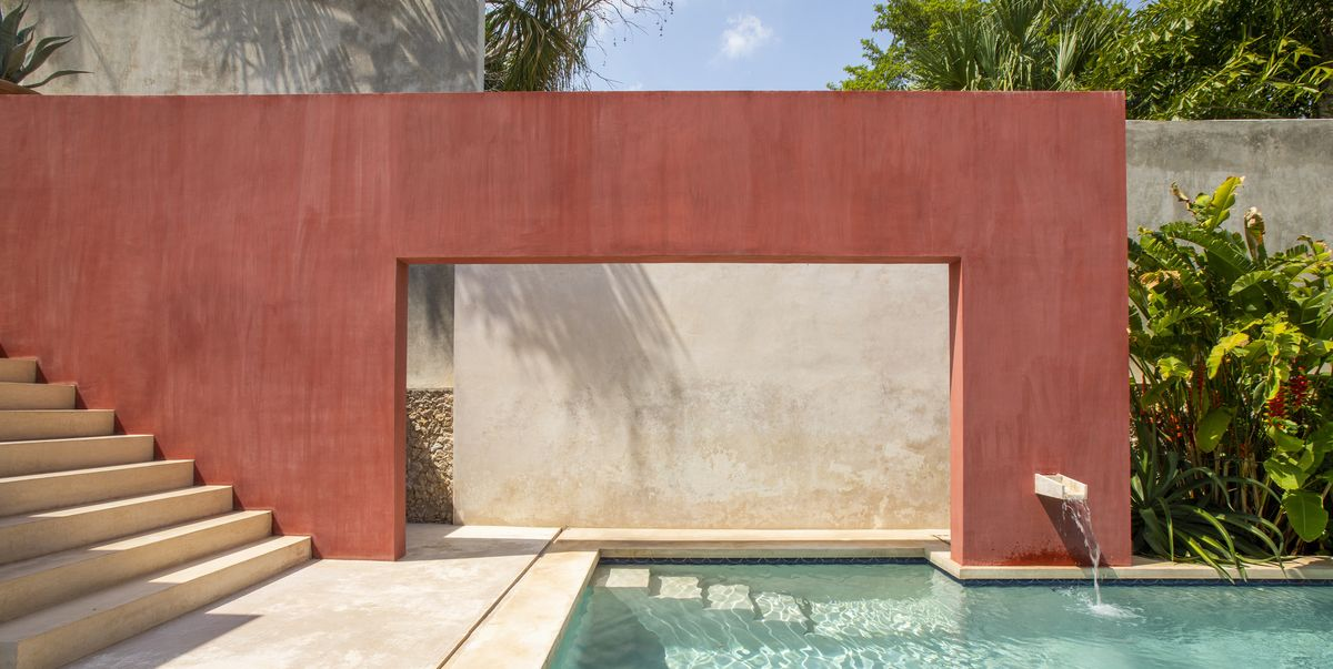 See inside this Mexican holiday home inspired by the modernist architecture of Luis Barragán