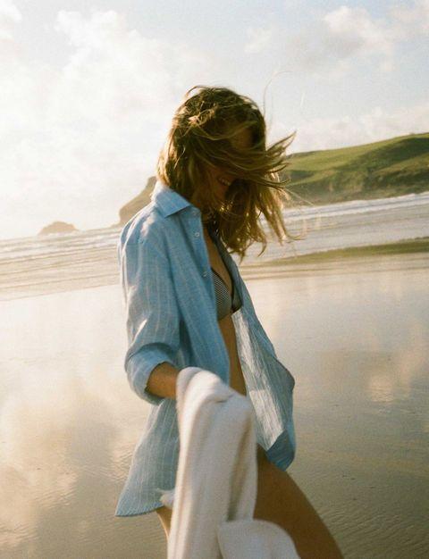 camicia lunga copricostume, camicia spiaggia, camicia in spiaggia, maxi camicia da spiaggia