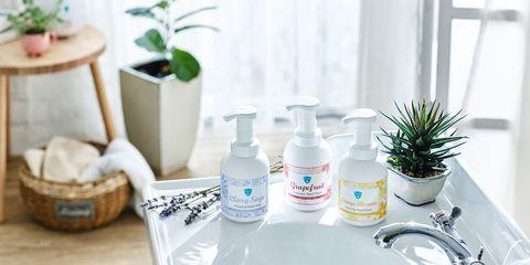 Product, White, Bathroom, Room, Houseplant, Flowerpot, Bathroom accessory, Plant, Interior design, Home,