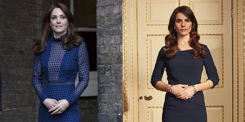Kate Middleton, Charlotte Riley