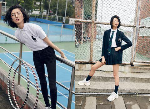 Blue, Uniform, Snapshot, Net, Fashion, Tennis, Electric blue, Leg, Footwear, Photography,